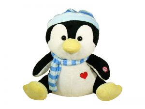 PLUSH PENGUIN W/ I'VE GOT THE JOY