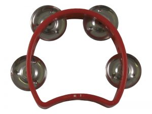 TAMBOURINE LITTLE RED 4in