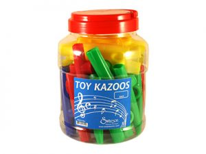 TOY KAZOO ASSORTED COLORS 40CT COUNTERTOP DISPLAY