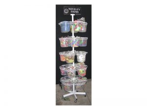 BUCKET DISPLAY 5 TIERS