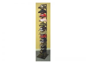 CAP TOWER BLACK 12 TIER