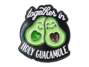 """LAPEL PIN """"TOGETHER IN HOLY GUACAMOLE"""" – PK6"""