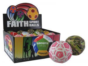 BALL FAITH SPORT ASST DISPLAY PK24