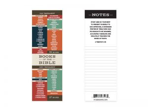 BOOKMARK BOOKS OF THE BIBLE PK25