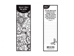 BOOKMARK COLORING REFLECT GOD'S NATURE PK25