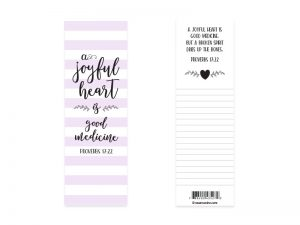 BOOKMARK JOYFUL HEART PK25