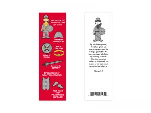 BOOKMARK ARMOR OF GOD PK25