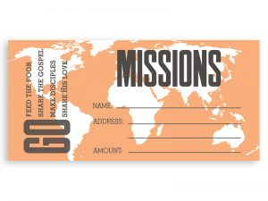 OFFERING ENVELOPE MISSIONS 100CT