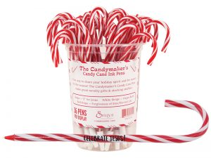PEN CANDY CANE DISPLAY PK36