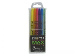 DRILITER MAX 6CT SET MULTICOLORS