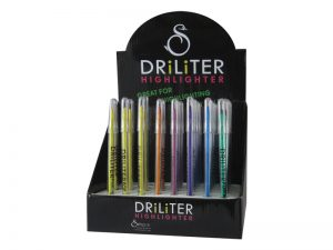 DRILITER POP-A-POINT DISPLAY MULTICOLORS 48CT