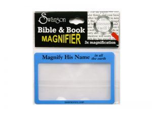 MAGNIFIER CREDIT CARD SIZE PK6