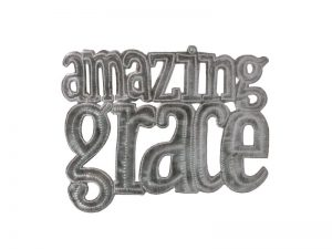FTP HAND-HAMMERED DECOR AMAZING GRACE
