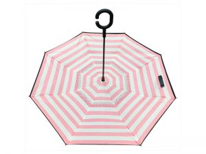 UMBRELLA REVERSIBLE JOYFUL ALWAYS PINK