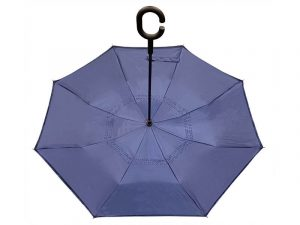 UMBRELLA REVERSIBLE YOUR GRACE COVERS ME NAVY