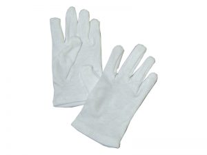 GLOVE PLAIN WHITE CHILD S