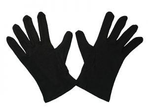 GLOVE PLAIN BLACK L