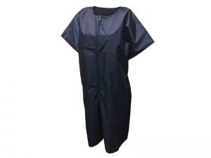 BAPTISMAL GARMENT/ROBE NAVY ZIP 3XL