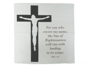 PRAYER CLOTH MALACHI 4:2 JESUS/CROSS PK6