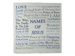 PRAYER CLOTH NAMES OF JESUS PK6