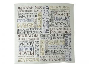 PRAYER CLOTH NAMES OF GOD PK6