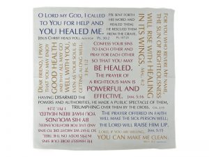 PRAYER CLOTH HEALING VERSES PK6