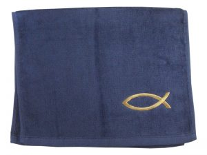 PASTOR TOWEL FISH NAVY