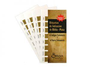 BIBLE INDEX TABS SPANISH GOLD SWANSON PK10