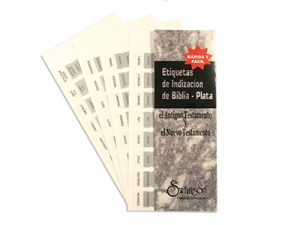 BIBLE INDEX TABS SPANISH SILVER SWANSON PK10