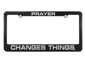 TAG FRAME PRAYER CHANGES THINGS