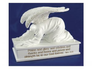 ANGEL OF PRAISE 3 1/2″ X 4 3/4″ X 3″