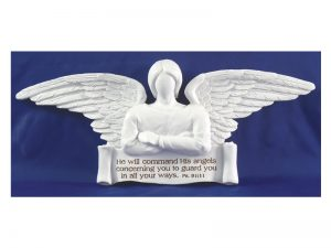 GUARDIAN ANGEL PLAQUE 7 3/4″ X 3″