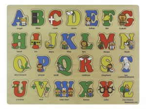 WOOD PUZZLE BIBLE ABC'S