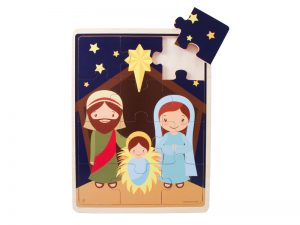 WOOD PUZZLE JIGSAW NATIVITY
