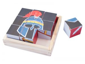 PUZZLE ARMOR OF GOD 6 WOOD BLOCKS