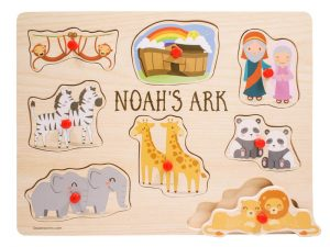 NOAH'S ARK PEG PUZZLE..