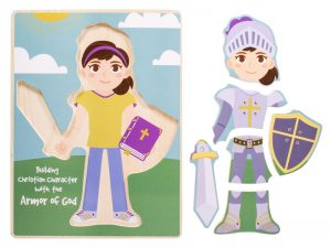ARMOR OF GOD BUILD-A-KID GIRL