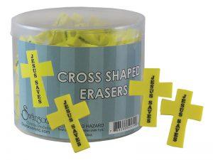 ERASER CROSS JESUS SAVES PK96