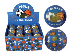SOFT PLAY BALL JESUS IS THE GOAL PK24