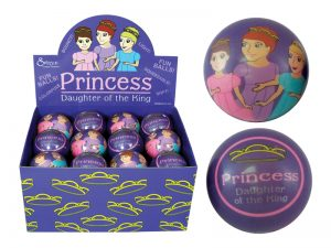 SOFT PLAY BALL PRINCESS DAUGHTER OF THE KING PK24