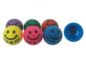 SMILE FACE POPPERS 45mm PK12
