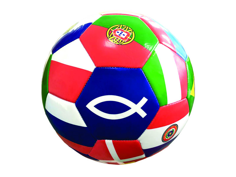 GO TELL THE WORLD MISSIONARY SOCCER BALL
