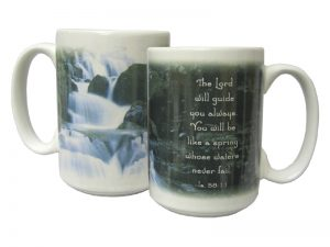 MUG THE LORD WILL GUIDE 14OZ