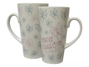 MUG LATTE NEW CREATION 16OZ