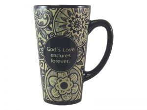 MUG LATTE GOD'S LOVE 16OZ