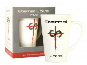 MUG LATTE ETERNAL LOVE 16OZ
