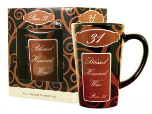 MUG LATTE PROVERBS 31 16OZ
