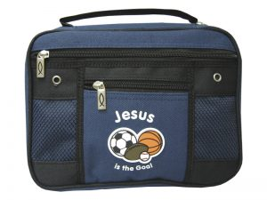 BIBLE COVER CANVAS JESUS IS THE GOAL M