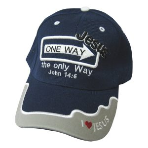 CAP NAVY ONE WAY JESUS