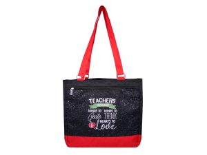 TOTE TEACHERS ENCOURAGE  12.5X11.5X6